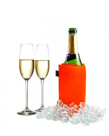 Manta enfriadora de vino y cava naranja y lima