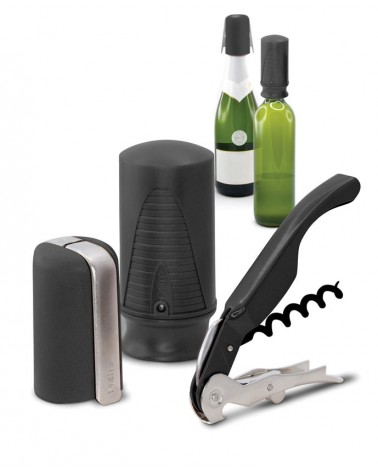 Wine & Champ. Starter Set (3 pcs.) Black