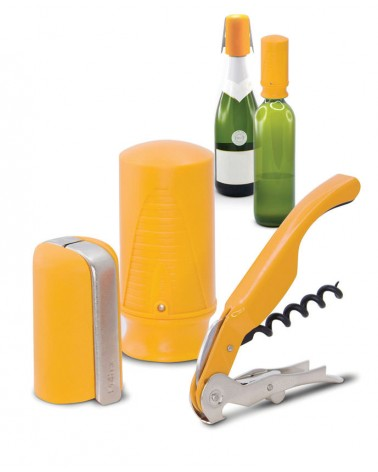 Wine & Champ. Starter Set (3 pcs.) Yellow