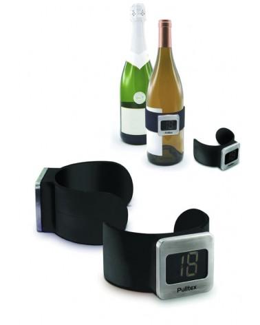 Termometro de vino Negro
