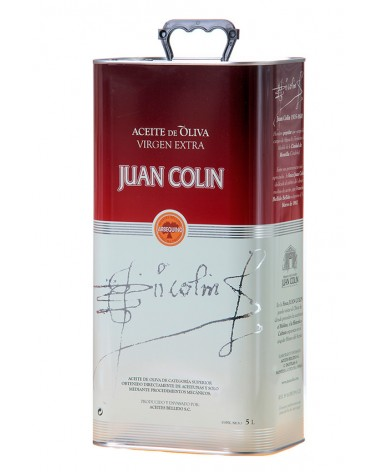 5l Aceite oliva virgen extra Arbequina Juan Colín